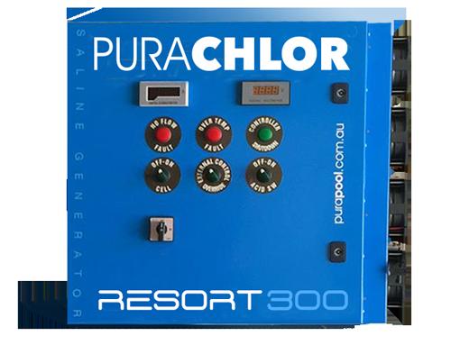 Purachlor® RESORT Series chlorinator - A reliable commercial chlorinator